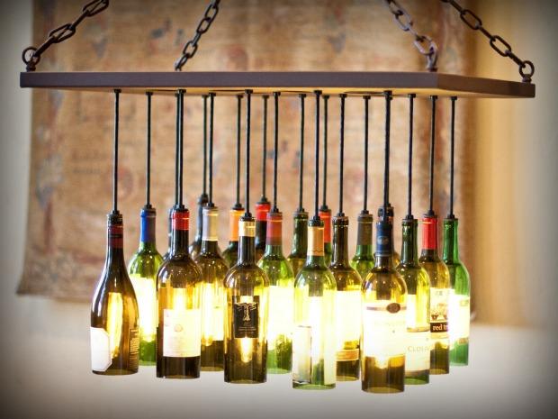 reaproveitamento de garrafas de vidro