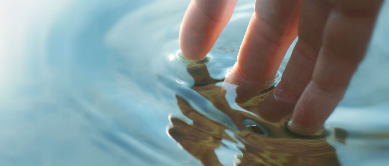 como preservar a água