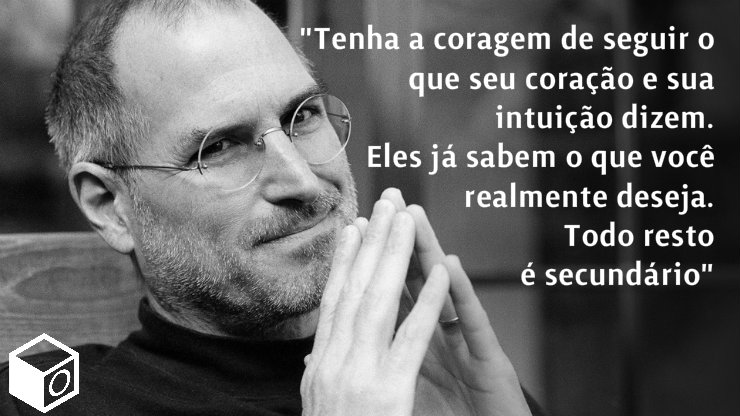 Steve Jobs intuição